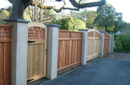 CUSTOM GATES- PILLARS